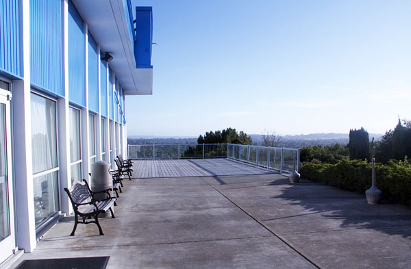 Vallejo Masonic Event Center outside deck
